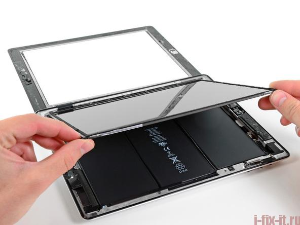 О замене дисплея на iPad