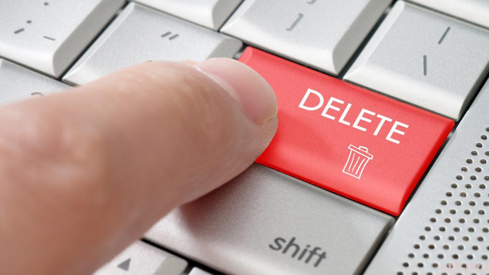 Удалить себя из соцсети