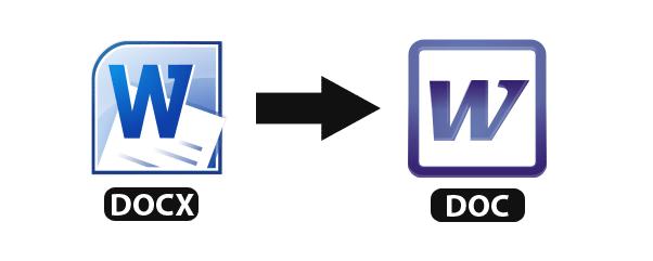 Можно переконвертировать файл docx онлайн